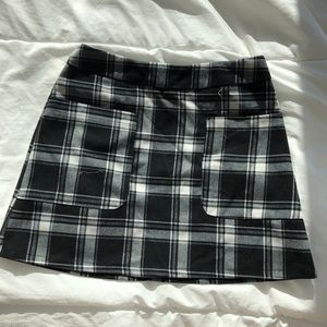 LF Seek The Label Plaid Skirt